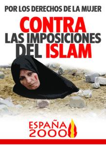 contra las imposiciones del islam